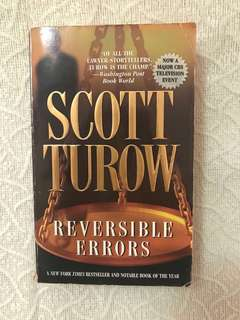 Reversible Errors by Scott Turow