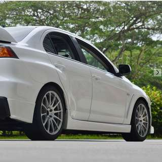 """Prodrive forged 18"""" for evo w re71r"""