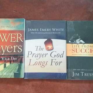 Inspirational books ,Christian bks and Novels