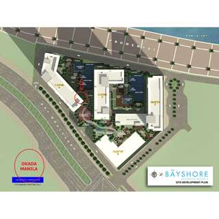 1 Bedroom with seaview at Bayshore 2 at Okada Manila