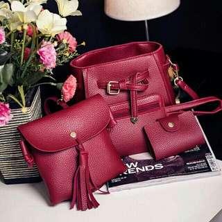 Korean Slong Bag 4 in 1
