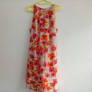LOFT by ANN TAYLOR sleeveless floral dress