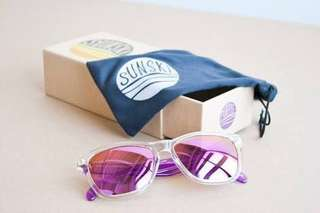 Sunski Originals - Vintage Purple Sunglasses