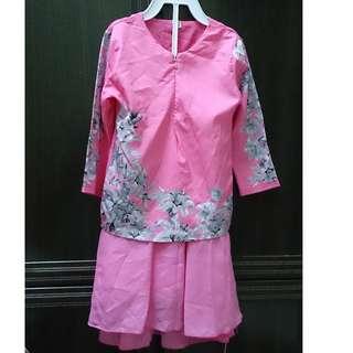 Baju Kurung budak 3y - preloved