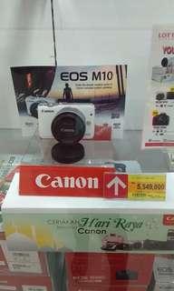 Kredit kamera Canon M10 tanpa dp