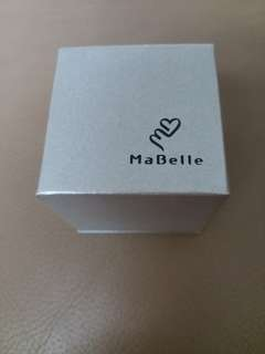 MaBelle Jewelery Box 鑽石耳環戒指盒