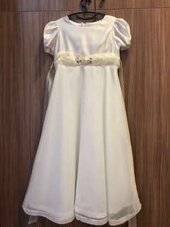 Flower girl long dress size8
