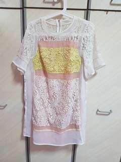 Very elegant lace dress- size uk14