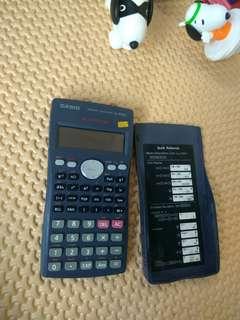 kalkulator casio kondisi hidup