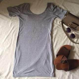 Lowback bodycon dress
