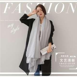 Korean Style Cotton Scarfs LIST 1