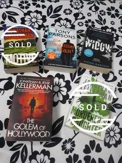 🚚 (Preloved) 3 for $9 Bestselling Novels! 📖📚