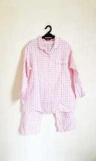Polo Sleepwear (Top + Pants)