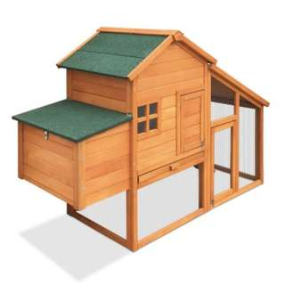 171cm Tall Wooden Chicken Coop