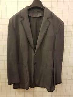 Berluti 50 calfskin leather jacket