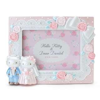 Japan Sanrio Hello Kitty & Dear Daniel Photo Frame (Wedding)