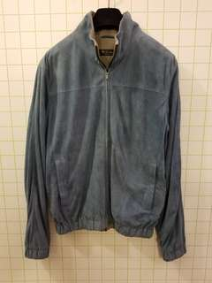 Loro Piana M suede leather jacket