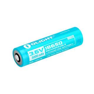Olight 18650 3.6V 3000mAh High Discharge Rechargeable Lithium Battery (For H2R and S2R)