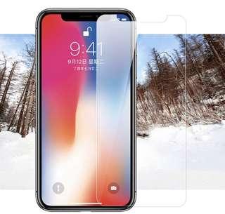 📱貼:iPhone X / iphone 7 / iPhone 8 screen protector 屏幕 保護貼
