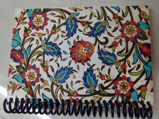Unique Turkish inspired notebook