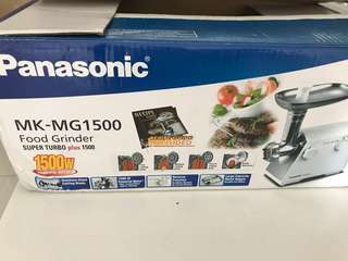Panasonic Meat grinder and sausage maker