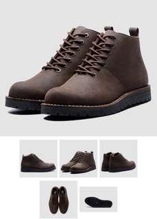 brodo signore boots dark choco size 44