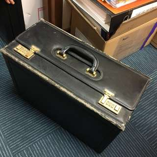 Lawyer's box briefcase
