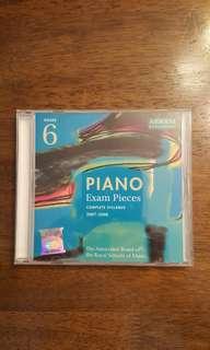 PIANO exam pieces grade 6 syllabus 07-08