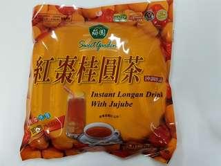 台灣薌園紅棗桂圓茶飲品,有2包,每包$25