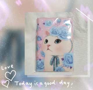 CHOOCHOOCAT PETITE JIOURNEY  PASSPORT CASE APEACH護照套一個  Made in Korea 100% New 韓國帶回 ST-17