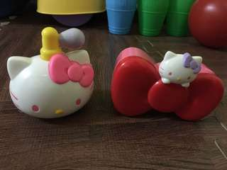 hello kitty/mcd toys/happy meal