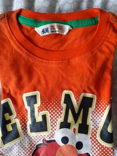 H&M tshirts for 2-4yrs old 100% authentic
