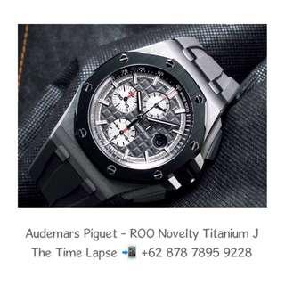Audemars Piguet - ROO Novelty Titanium 'J'