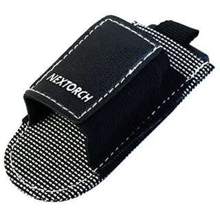 NexTorch LT2113 Medium Sized Free-Style Nylon Holster (Fits Emisar D1, D4, Zebralight SC600 Series Nicely)