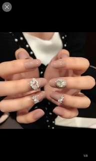 24 pcs fake nails