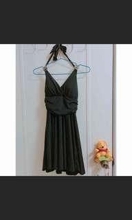 🚚 黑色緞面禮服