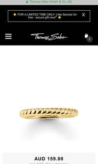 Thomas Sabo Gold Ring