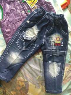 (NEW WITH TAG) CELANA JEANS ANAK