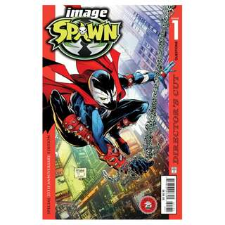 Spawn #1 25th anniversary Director Cut cover