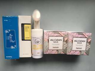 New & hardly used Skincare items