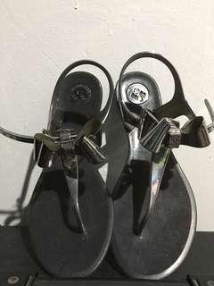 BCBG jelly flats/sandals