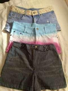 Shorts for set