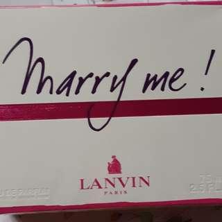 Parfum Marry me by Lanvin
