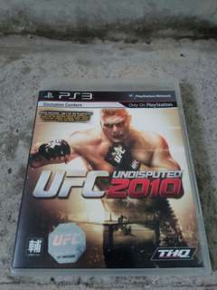 PS3 Games UFC Undisputed 2010 4 Sale.