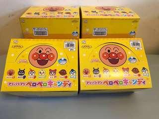 日本直送 不二家麵包超人棒棒糖25支一盒