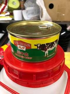 10 罐裝咸牛肉