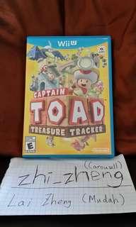 Captian Toad Treasure Tracker Wii U game