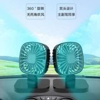 車載強力製冷空調12V24V電風扇大貨車汽扇車通用