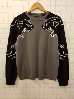 Valentino L Men Cashmere sweater runway