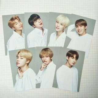 VT x BTS photocards